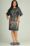 Платья Модель 486 цветы SVT-fashion      Производитель: SVT-