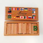 Мемори Флаги мира в коробочке
