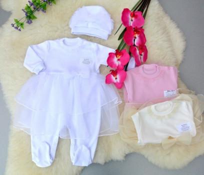 Одежда на выписку для девочки лето
