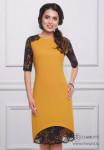 Платье Шикарная женщина (янтарь)