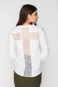 """Блуза """"Крест"""" 01633/0 от MultiModa"""