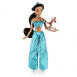 Jasmine Classic Doll with Abu Figure - 12''