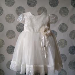 """Нарядное платье  """"Снежинка"""""""