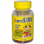 Gummi King, Витамин D, 60 жевательных резинок