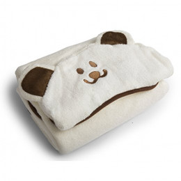Baby Hooded Towel and Washcloth Set