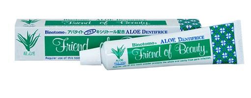 Зубная паста отбеливающая, с экстрактом алоэ