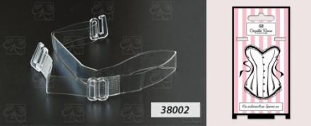 CR бретель силиконовая 10 мм - 38002