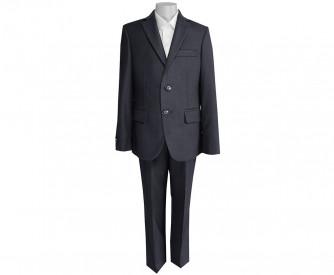 Школьный костюм-тройка UNIK KIDS, темно-серый (116-164)