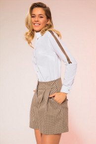 блуза LaVeLa Артикул: L50107 белый