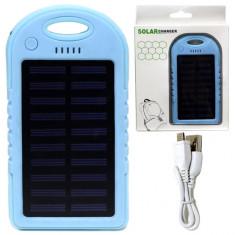 Внешний аккумулятор на солнечных батареях 5000mAh