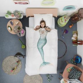 Комплект постельного белья Русалочка 1,5-спальный - НОВИНКА
