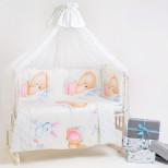 Набор в кроватку 7 предметов Дизайн 11