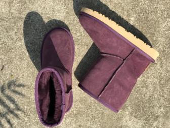 Пурпурные классические женские угги