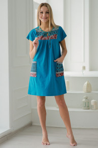 АМАДЭЛЬ Арт: 03150/1 Платье женское Паулина бирюза макси