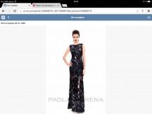 Платье для выхода в свет . PAOLA MORENA . Итальянское качест
