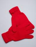 Перчатки из шерсти красный, Монголия
