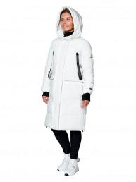 Пальто женское, сезон 2019-2020, арт. B-8872, Белый