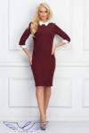Платье Ивиан бордо new
