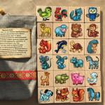 Мемори Мир животных в мешочке