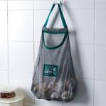 Мешок-сетка для хранения овощей, СЕРАЯ