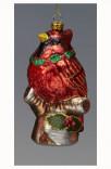 Елочная игрушка Обитатели леса Holiday Classics. Птица Карди