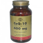 Solgar, Коэнзим Q-10, 400 мг, 60 капсул