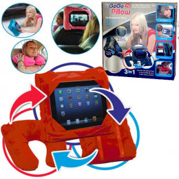 Мультифункциональная подушка-сумка и подставка под планшет