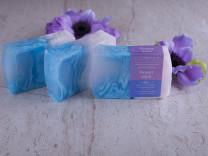 Мыло натуральное ручной работы 100 г Flower aqua