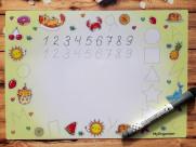 Магнитная Детская Доска для рисования