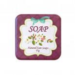 Натуральное скраб-мыло с экстрактом инжира, 110 гр.