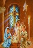 Вышивка стразами * Ангелочек и Дети