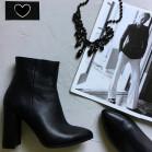 Кожаные изящные ботинки. New collection 17-18!