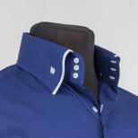 Стильная рубашка с высоким воротником Tunica Benefit