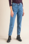 Базовые джинсы mom-fit