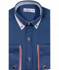 Рубашка для мальчика, Dast cardin, темно-синяя