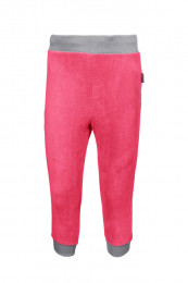 Флисовые штаны цвет розовый