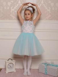 """Платье для девочки """"Балерина"""" (рост 122 см)"""