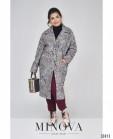 Пальто №495-1-Серый