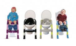 Детское сидение на унитаз со ступенькой