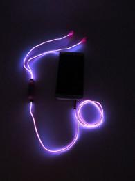 Светящиеся наушники-гарнитура