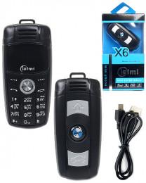 Мини телефон-брелок BMW
