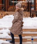 Детское пальто А*З18*15*246 пух