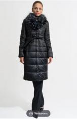 Пальто Модель 405-1м черный Gotti      Производитель: Gotti