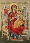 Икона Всецарица- икона (Гобеленовая картина)