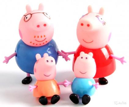 peppa pig семья пеппы папа и джордж