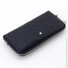Женский кожаный кошелек на молнии Sergio Valentini СВ 8071-0