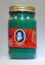 """Тайский зеленый бальзам """"Кулаб"""" (средний, нетто 100 г.)"""