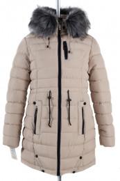 05-0755 Куртка зимняя (Синтепух 400) Плащевка Светло-бежевый