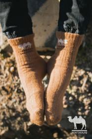 Носки из шерсти верблюда 100%, Монголия