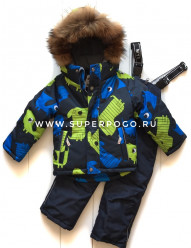 Mys, костюм зимний для мальчика (цвет серый)